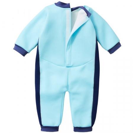 Costum întreg neopren bebeluşi - Warm In One™ Albastru Cobalt1