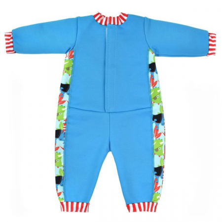 Costum întreg neopren bebeluşi - Warm In One™ Pirații Dino1