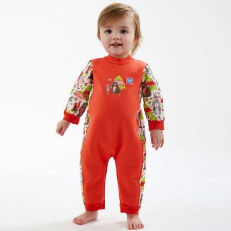 Costum întreg neopren bebeluşi - Warm In One™ Din Pădure3