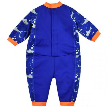 Costum întreg neopren bebeluşi - Warm In One™ Rechinii Simpatici1