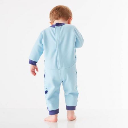 Costum întreg neopren bebeluşi - Warm In One™ Balene Uriaşe3