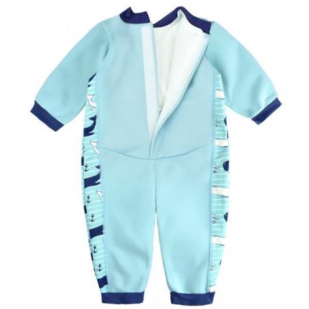 Costum întreg neopren bebeluşi - Warm In One™ Balene Uriaşe1