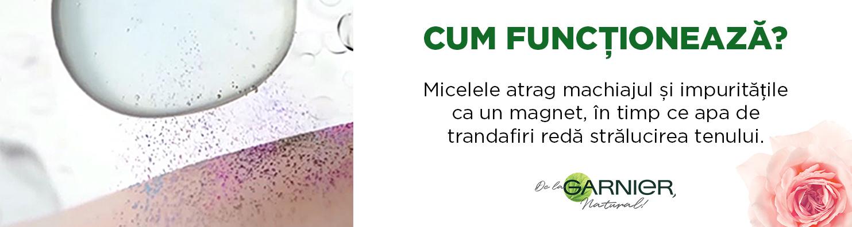 Ape micelare de la Garnier