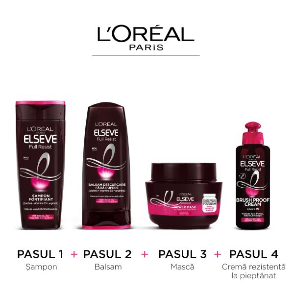 Șampon pentru par fragil cu tendinta de cadere  Elseve Full Resist - 250ml [4]