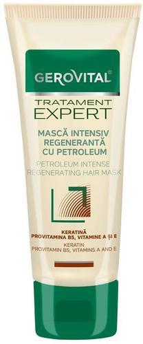 Masca Gerovital Tratament Expert intensiv regeneranta cu petroleum, 150ml [0]