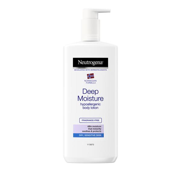 Lotiune de corp Neutrogena Deep Moisture pentru piele sensibila, 400 ml [0]