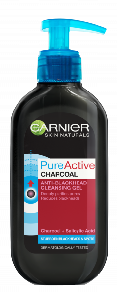 Gel de curatare pentru ten gras Pure Active Charcoal Skin Naturals , 200 ml [0]
