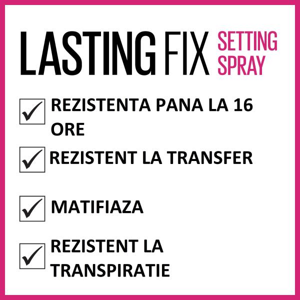Spray de fixare Lasting Fix, 100ml 4