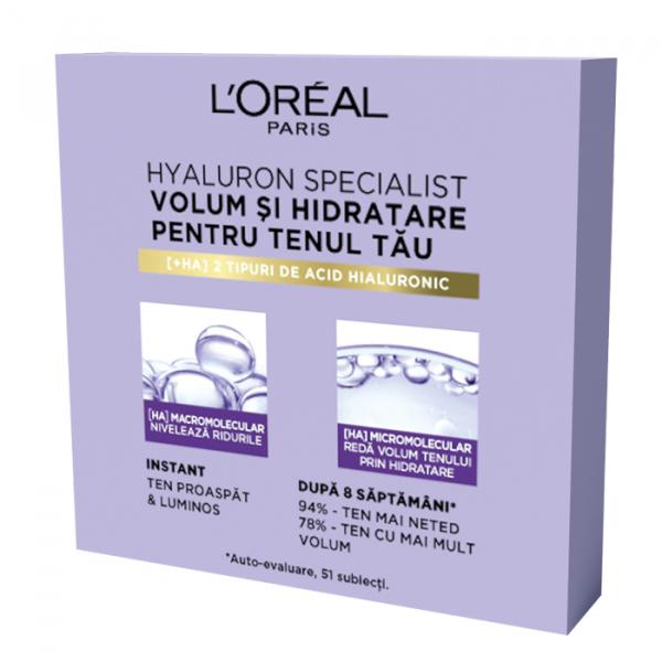 Kit de testare pentru 14 zile Hyaluron Specialist: crema de zi antirid hidratanta pentru volumul tenului, 14 x 3ml [2]