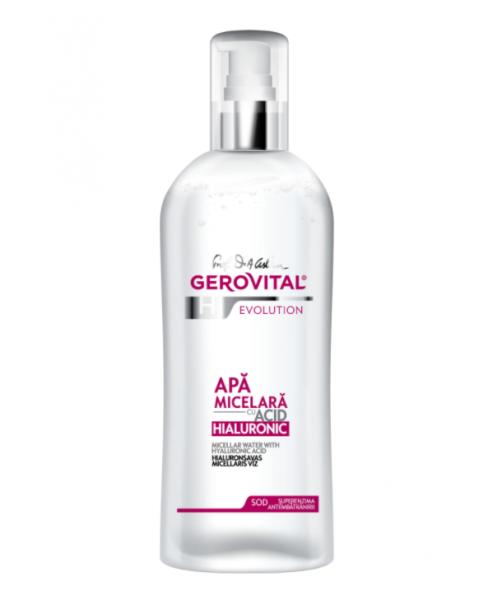Apa micelara Gerovital H3 Evolution cu acid hialuronic , 150 ml [0]