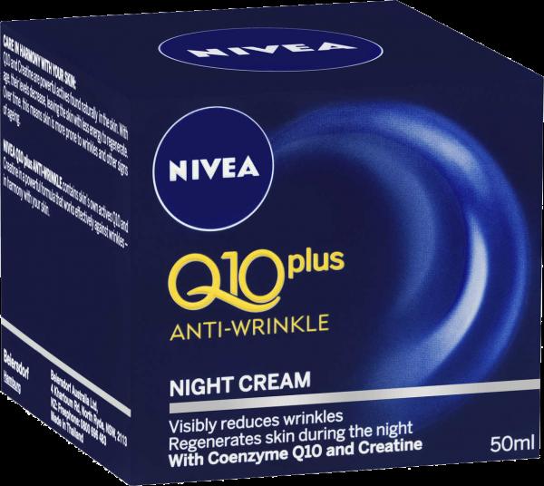 Crema antirid, de noapte, Nivea Anti-rid Q10, 50 ml 0