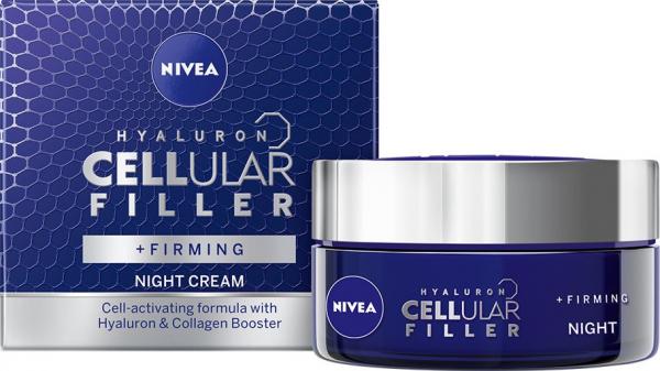 Crema de noapte Nivea Cellular Hyaluron Filler, 50 ml 0