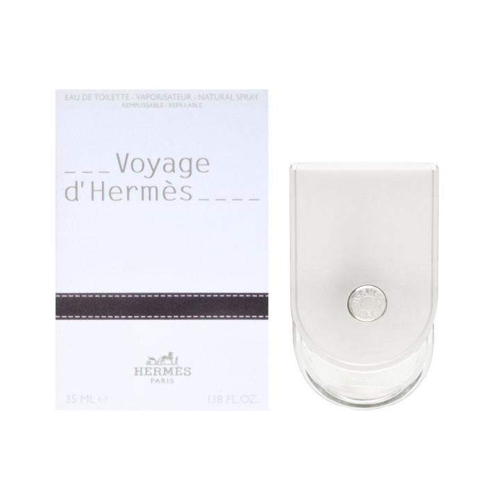 Apa de toaleta Hermes Voyage d'Hermes 35 ml, unisex, Floral - Lemnos - Mosc [0]