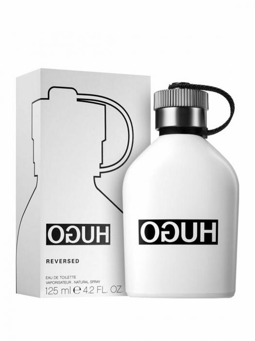 Apa de toaleta Hugo Boss Hugo Reversed 125 ml, barbati, Lemnos - Aromatic [1]