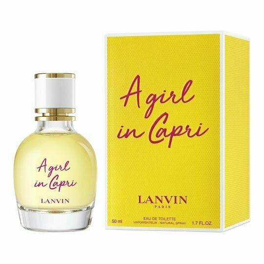 Apa de toaleta Lanvin A Girl in Capri 50 ml, pentru femei [0]