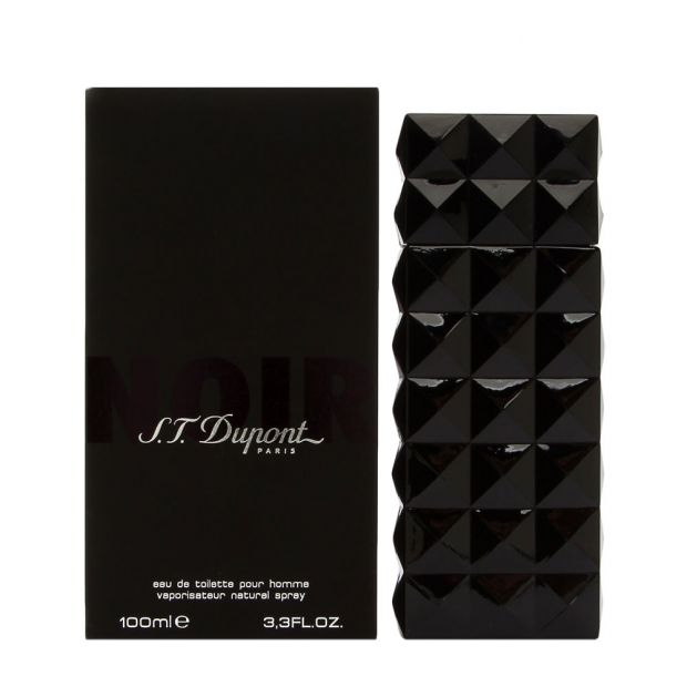 Apa de toaleta S.T. Dupont Noir 100 ml, pentru barbati [1]