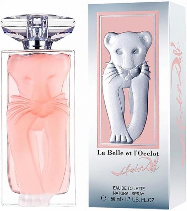 Apa de toaleta Salvador Dali La Belle Et L`Ocelot 50 ml, pentru femei [1]
