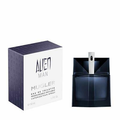 Apa de toaleta Thierry Mugler Alien Man 50 ml, barbati, Oriental - Lemnos [0]