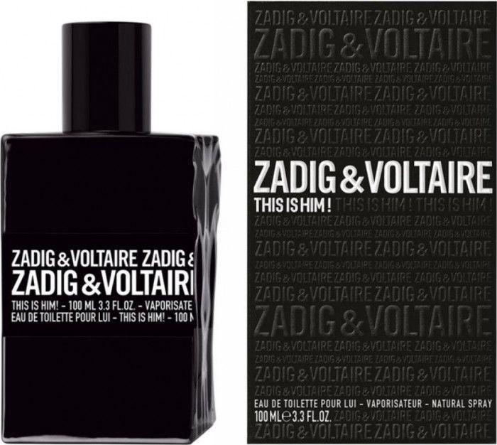 Apa de toaleta Zadig & Voltaire This Is Him! 100 ml, pentru barbati [0]