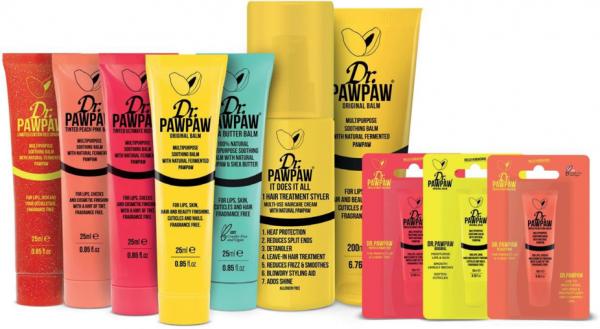Balsam buze mutifunctional 100% natural cu Unt de Shea 25ml Dr PawPaw 5