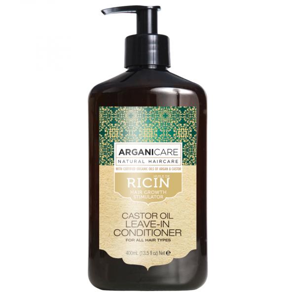 Balsam fara clatire Arganicare cu ulei de ricin, pentru toate tipurile de par 400 ml 0
