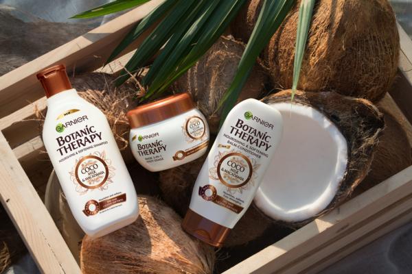Balsam Garnier Botanic Therapy Coco Milk & Macadamia, pentru par uscat lipsit de suplete 200 ML 1
