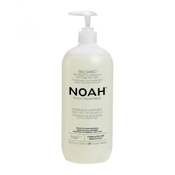 Balsam natural nutritiv si hidratant cu mango Noah 1000 ml 0