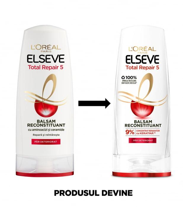 Balsam pentru par deteriorat, Elseve Total Repair 5 - 400 ml 3