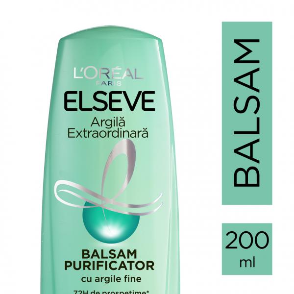 Balsam  pentru par gras, Elseve Argila Extraordinara - 200 ml [1]