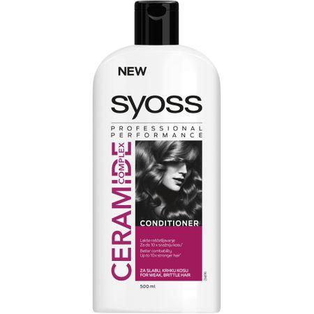 Balsam Syoss cu complex de ceramide pentru par cu tendinta de rupere, 500 ml 0