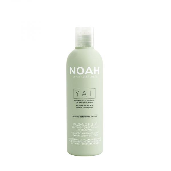 Balsam tratament cu acid hialuronic pentru volum si hidratare   Yal Noah 250 ml 0