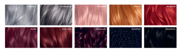 Colorista Vopsea gel permanenta 204 ml, nuanta ROSE GOLD 6