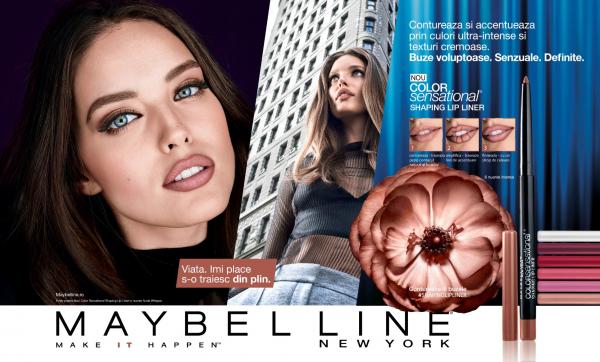 Creion de buze Maybelline New York Color Sensational Shaping Lip Liner - 6g [1]