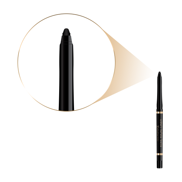 Creion de ochi Max Factor Kohl Kajal, 001 BLACK, 0.35 g [2]