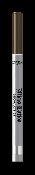 Creion de sprancene cu varf tip carioca L`Oreal Paris Brow Artist Micro Tattoo 108  Warm Brunette 5