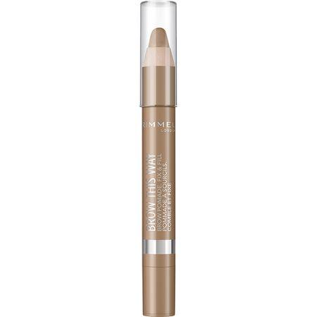 Creion de sprancene Rimmel Brow This Way Pomade, 001 Light, 3.25 g 0