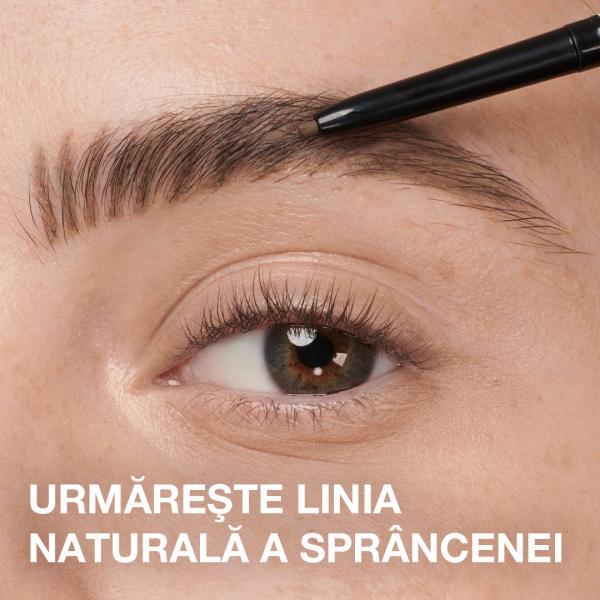 Creion pentru definirea sprancenelor Maybelline Brow Ultra Slim, MEDIUM BROWN 3