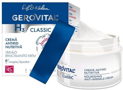 Crema Gerovital H3 Classic antirid nutritiva de noapte, 50 ml [0]