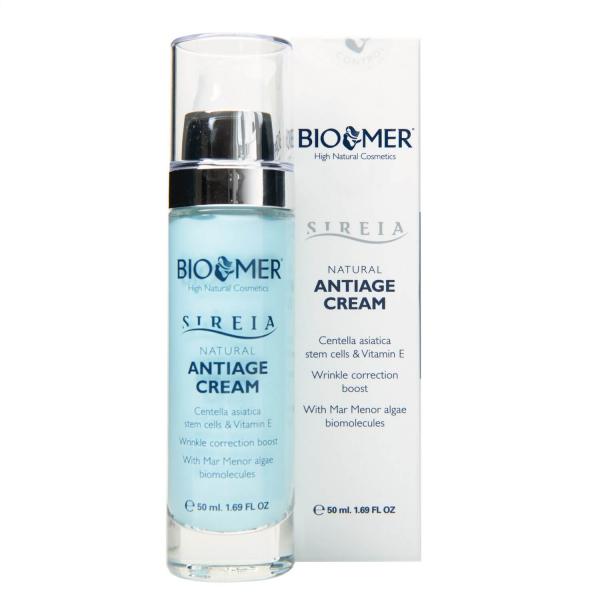 Crema anti aging cu celule stem din Centella Asiatica si Vitamina E Sireia Bio Mer 50 ml 1