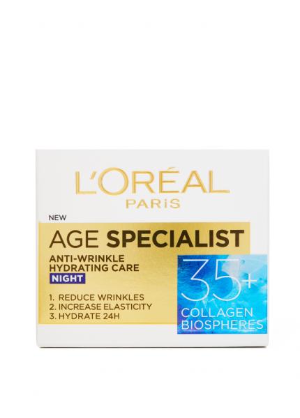 Crema antirid de noapte L'Oreal Paris Age Specialist 35+, 50ml [1]