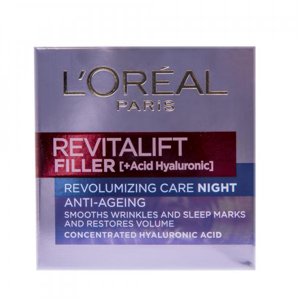 Crema antirid de noapte L`Oreal Paris Revitalift Filler 50ml [1]