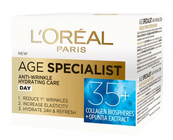 Pachet 2x Crema antirid de zi L'Oreal Paris Age Specialist 35+ 3