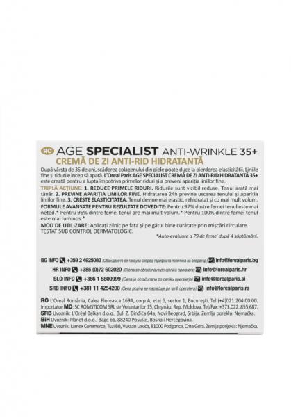 Crema antirid de zi L'Oreal Paris Age Specialist 35+ [3]