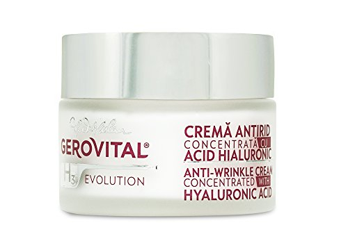 Crema antirid Gerovital H3 Evolution cu acid hialuronic concentratie 3%, 50 ml 1