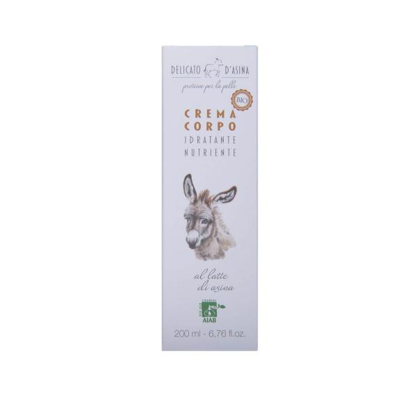 Crema de corp cu lapte de magarita BIO La Dispensa 200 ml 2