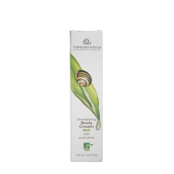 Crema de corp revitalizanta cu extract de melc Helidermina BIO La Dispensa 150 ml [2]