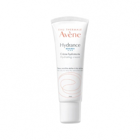 Crema de fata hidratanta Avene Hydrance Riche pentru ten uscat si sensibil, 40 ml [0]