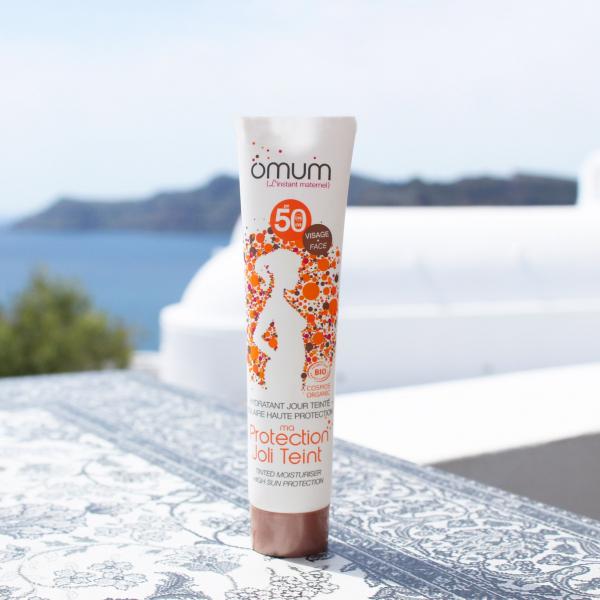Crema de fata nuantatoare pentru protectie solara SPF50 Ma Protection Joli Teint Omum 40ml 2