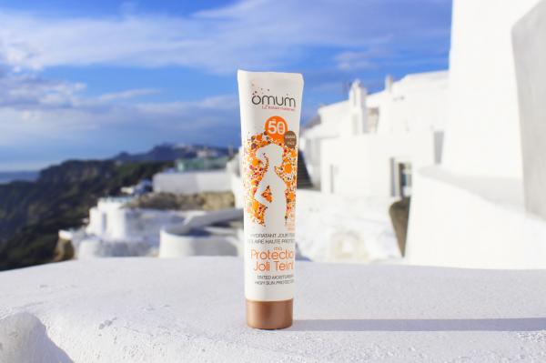 Crema de fata nuantatoare pentru protectie solara SPF50 Ma Protection Joli Teint Omum 40ml 4