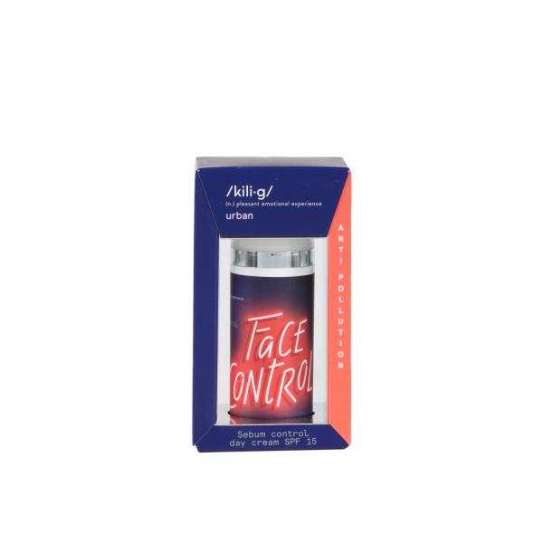 Crema de fata pentru ten gras SPF 15 Anti Pollution KILI⋅G URBAN 50 ml 0
